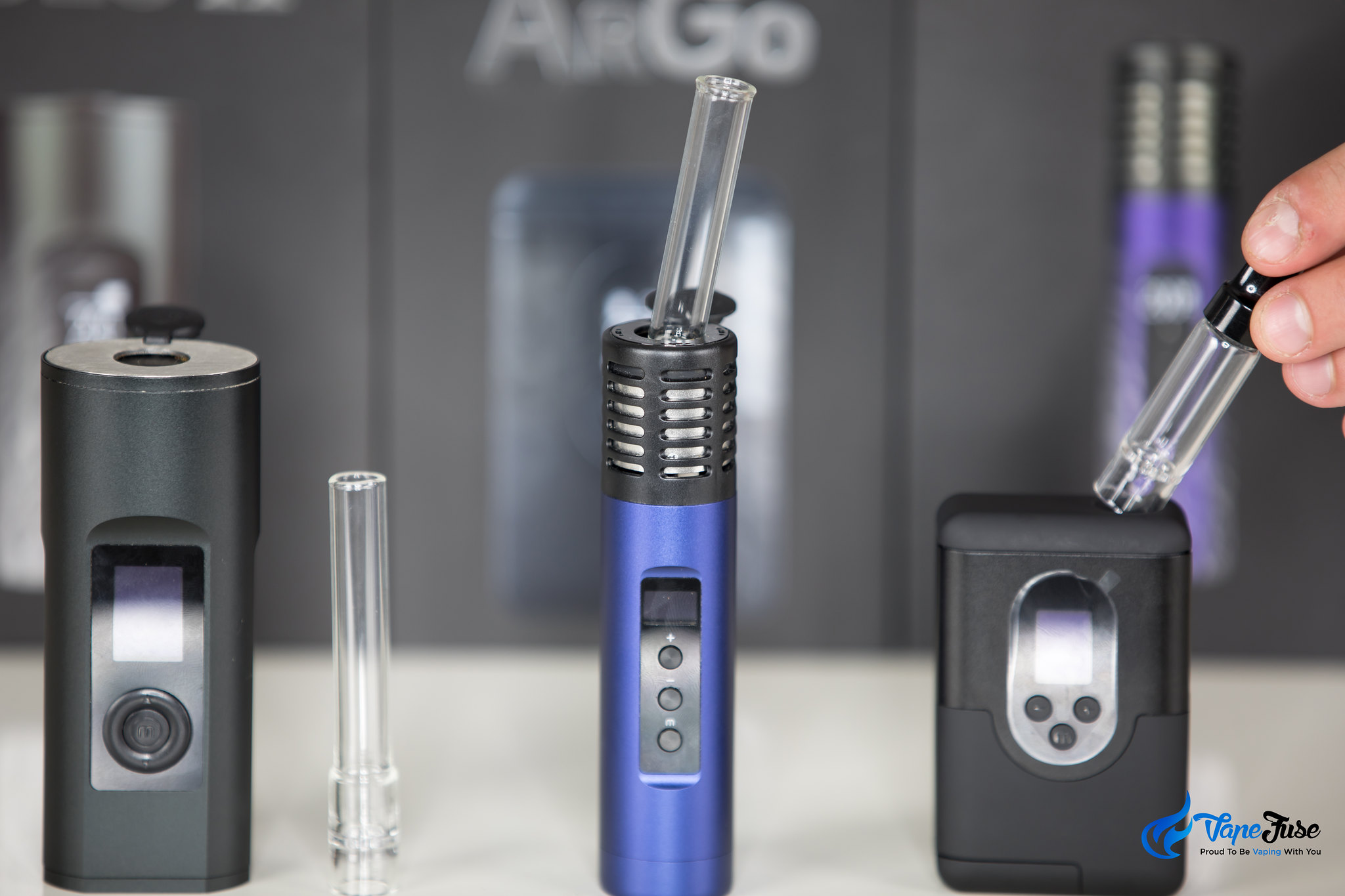 ArGo has a different size aroma tube