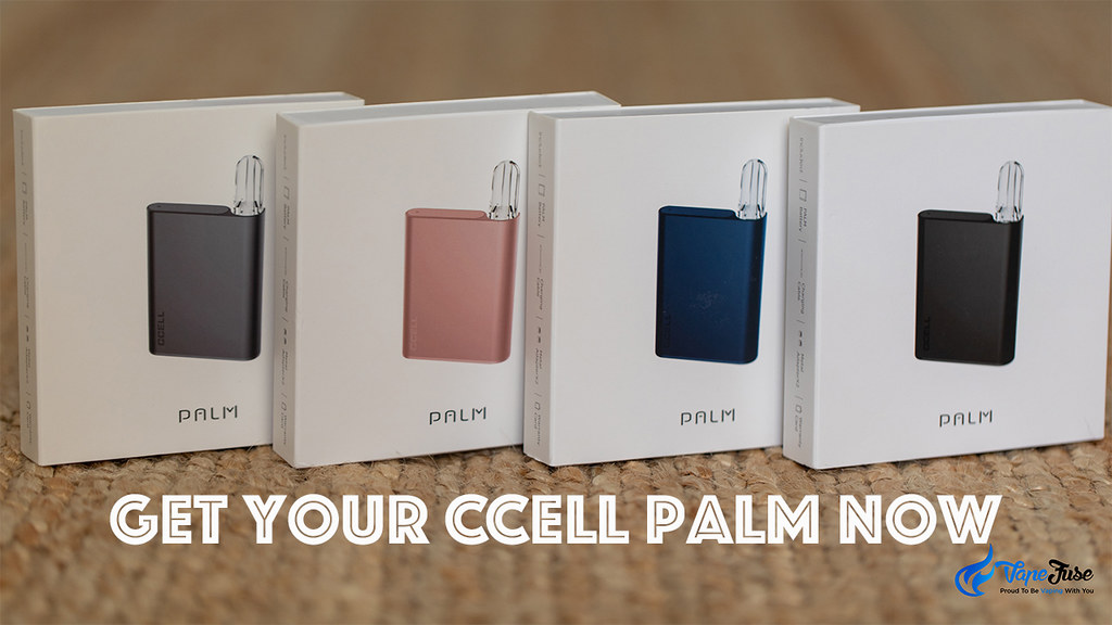 Get your CCell Palm Now