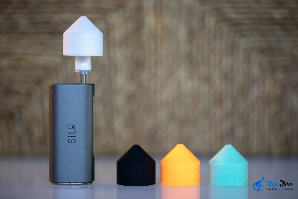 CCell Silo 510 Thread Vaporizer with Dab Cap Adapter