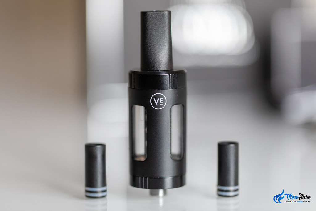 Vibe Vaping System by Vaper Empire - tank and mouthpieces