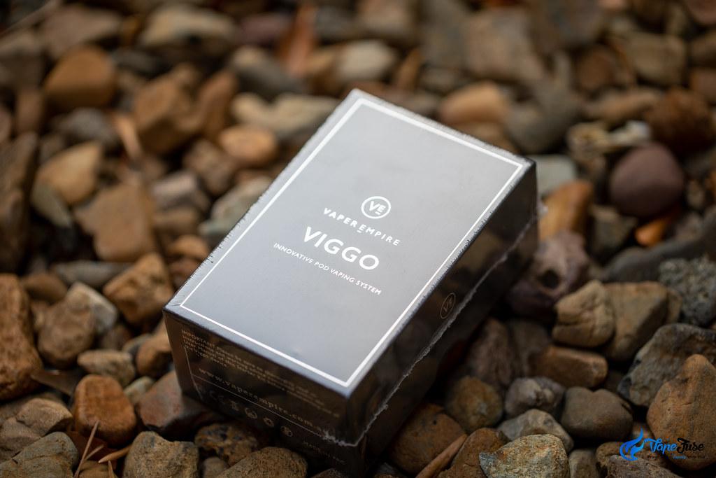 Vaper Empire's VIGGO vaporizer in box
