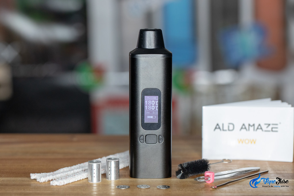 Ald Amaze WOW V2 Portable Dry Herb Vaporizer