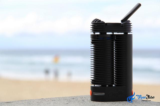 Crafty Portable Vaporzier at the beach