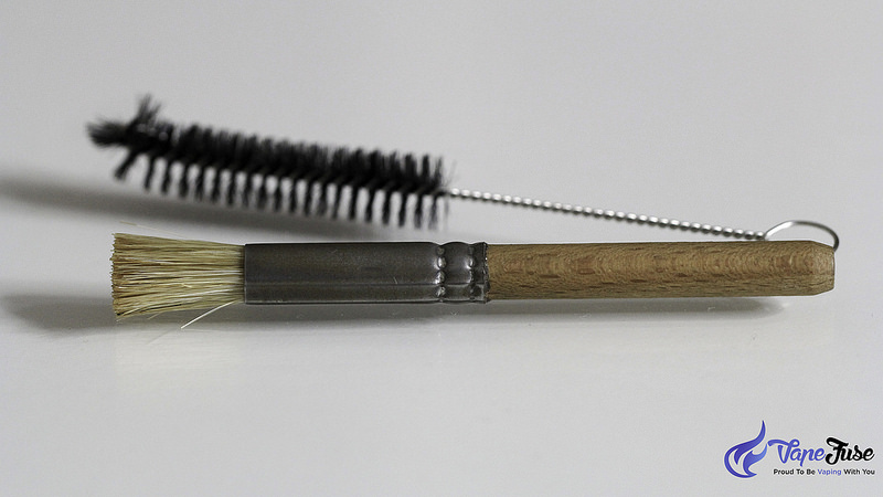 Vaporizer cleaning brushes