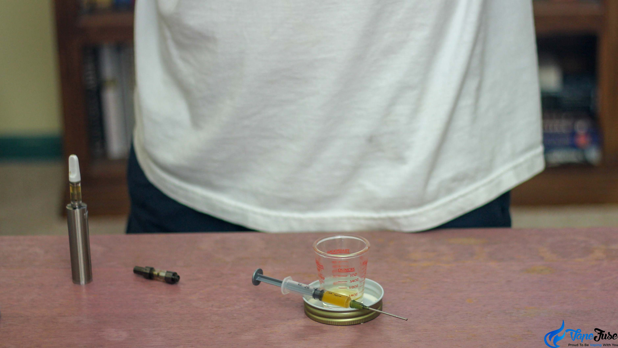 Filling cannabis oil carts