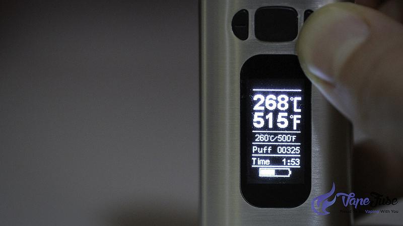 WOW Digital Vaporizer OLED Screen