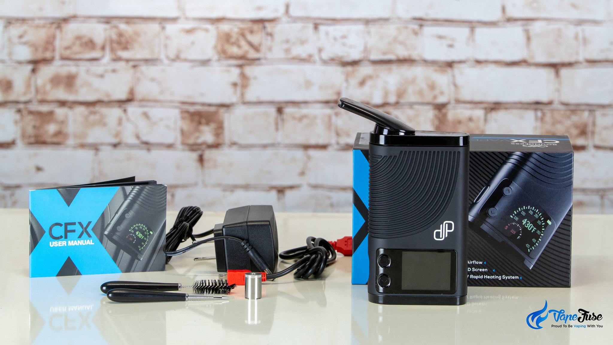 Boundless CFX Portable Herbal Vaporizer kit inclusions