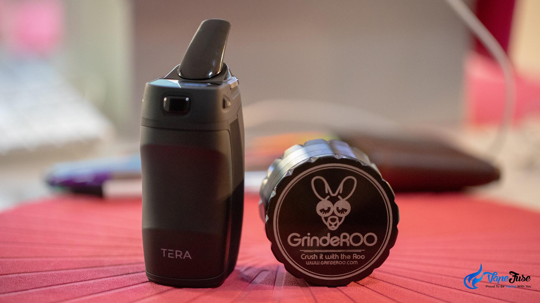 Boundless Tera Vaporizer with GrindeRoo