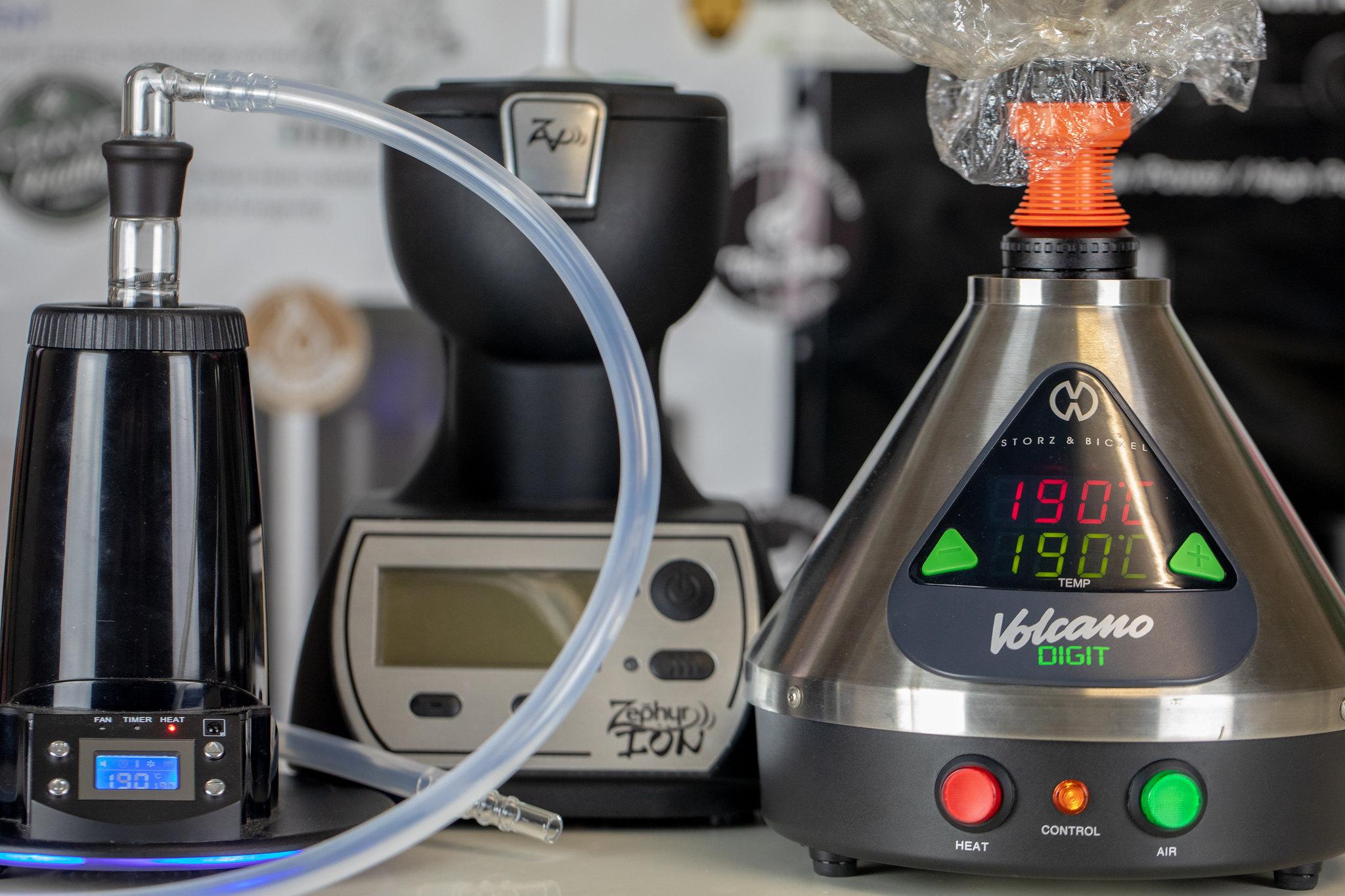 Desktop Dry herb vaporizers