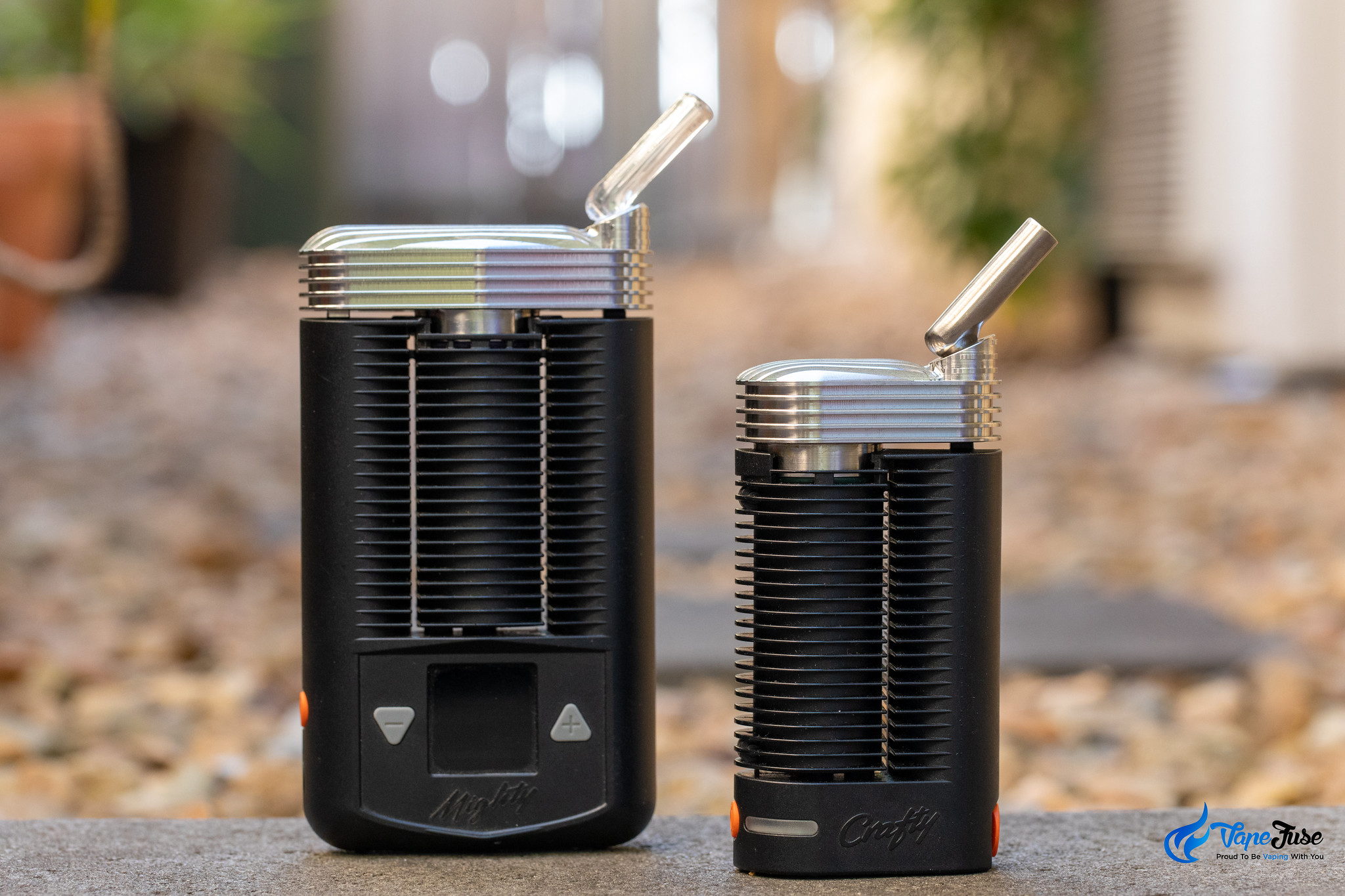 French Touch stainless steel cooling unit for Mighty and Crafty Vaporizers