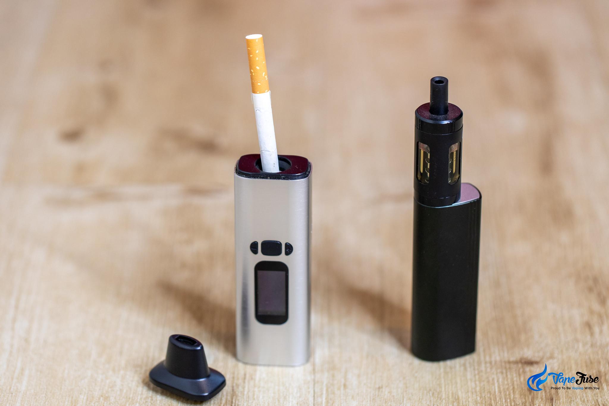 Vaporizing tobacco vs vaping