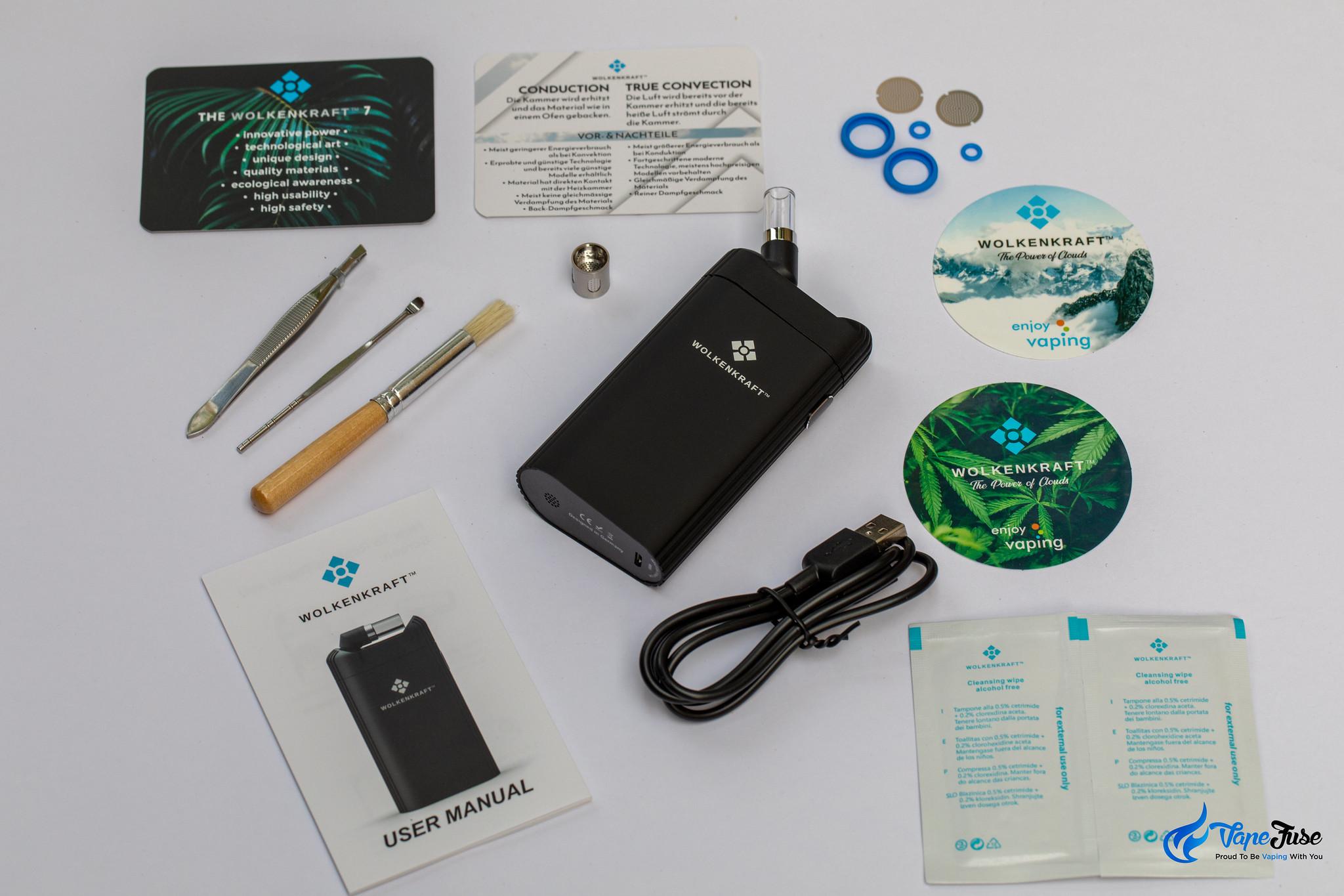 Wolkenkraft FX+ Vaporizer Kit