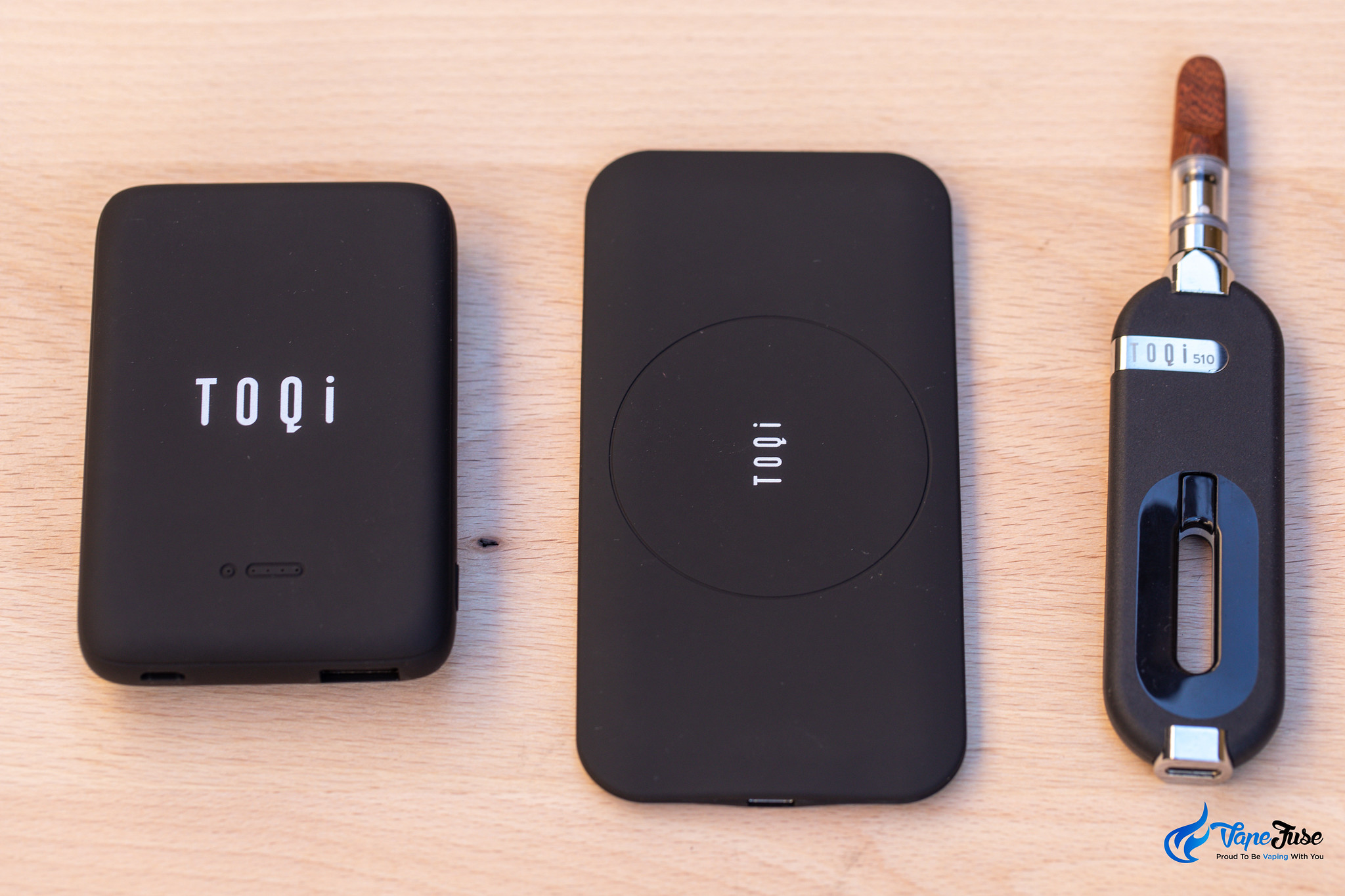 toqi 510 and charging accessories