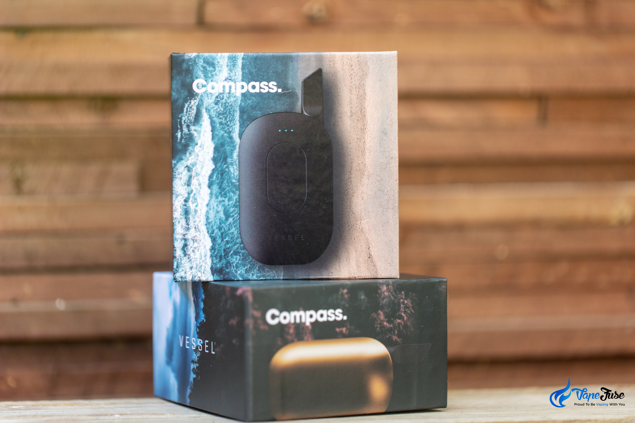 Compass vaporizer batteries in boxes