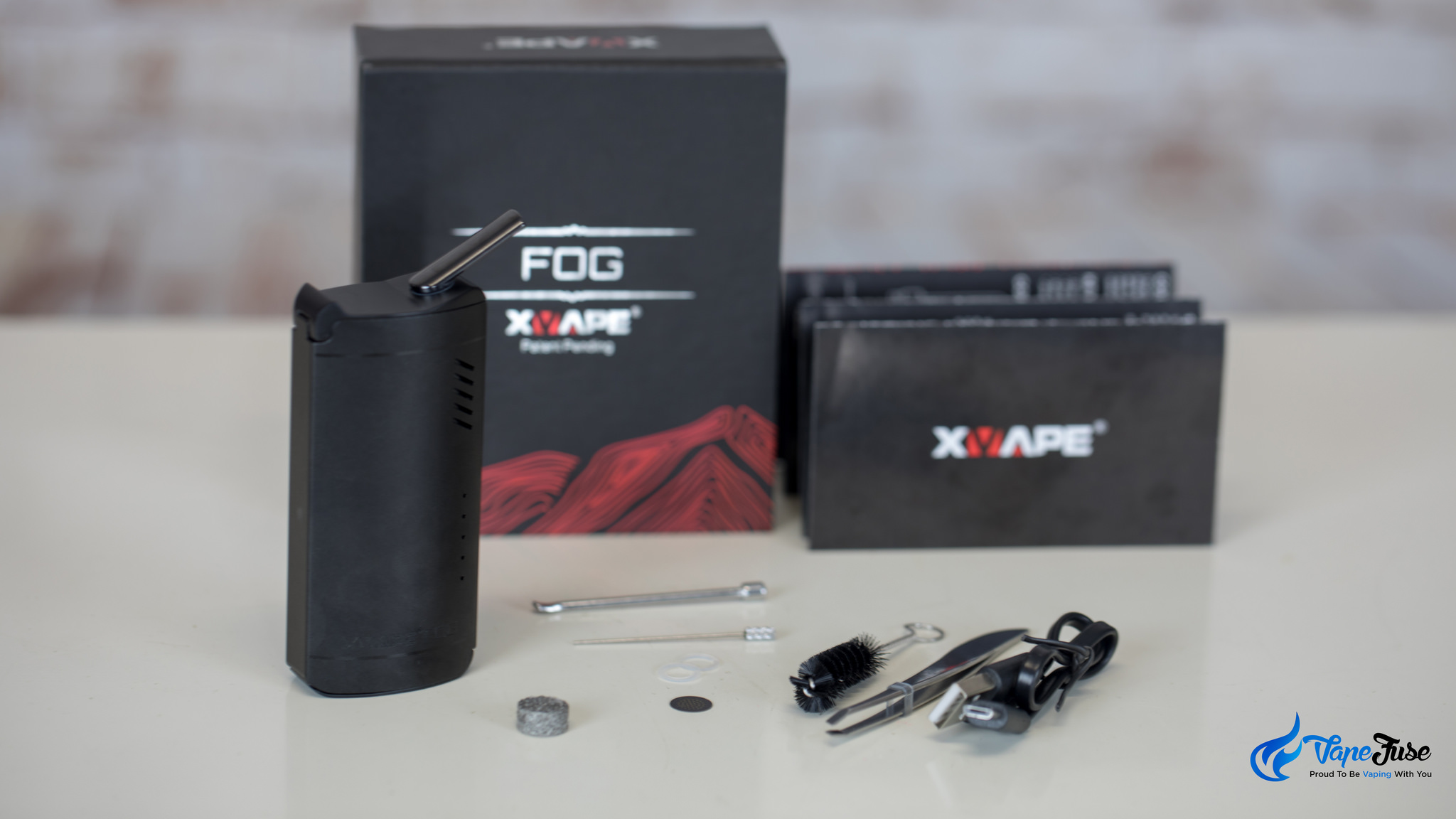 Xvape FOG full convection dry herb vaporizer