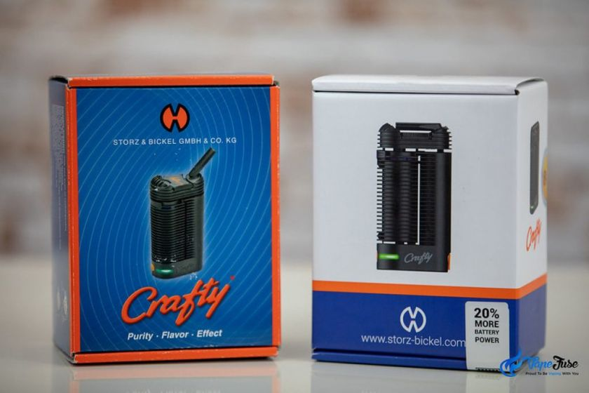 Crafty POrtable Vaporzier 20 percent more battery power