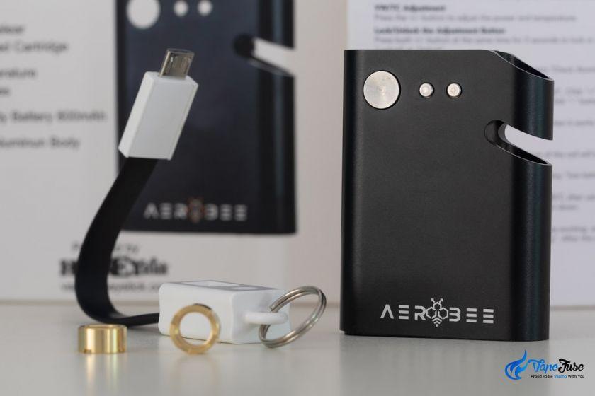 HoneyStick AeroBee 510 thread oil cartridge vaporzier kit